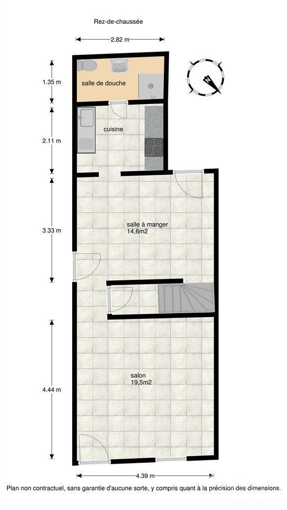 Image 12 : Maison à 7140 MORLANWELZ-MARIEMONT (Belgique) - Prix 75.000 €