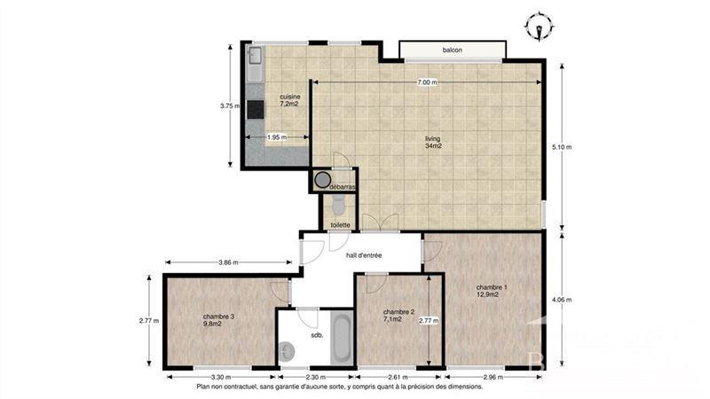 Image 8 : Appartement à 1400 NIVELLES (Belgique) - Prix 220.000 €