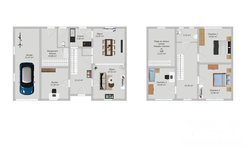 Image 20 : Maison à 6210 RÈVES (Belgique) - Prix 250.000 €