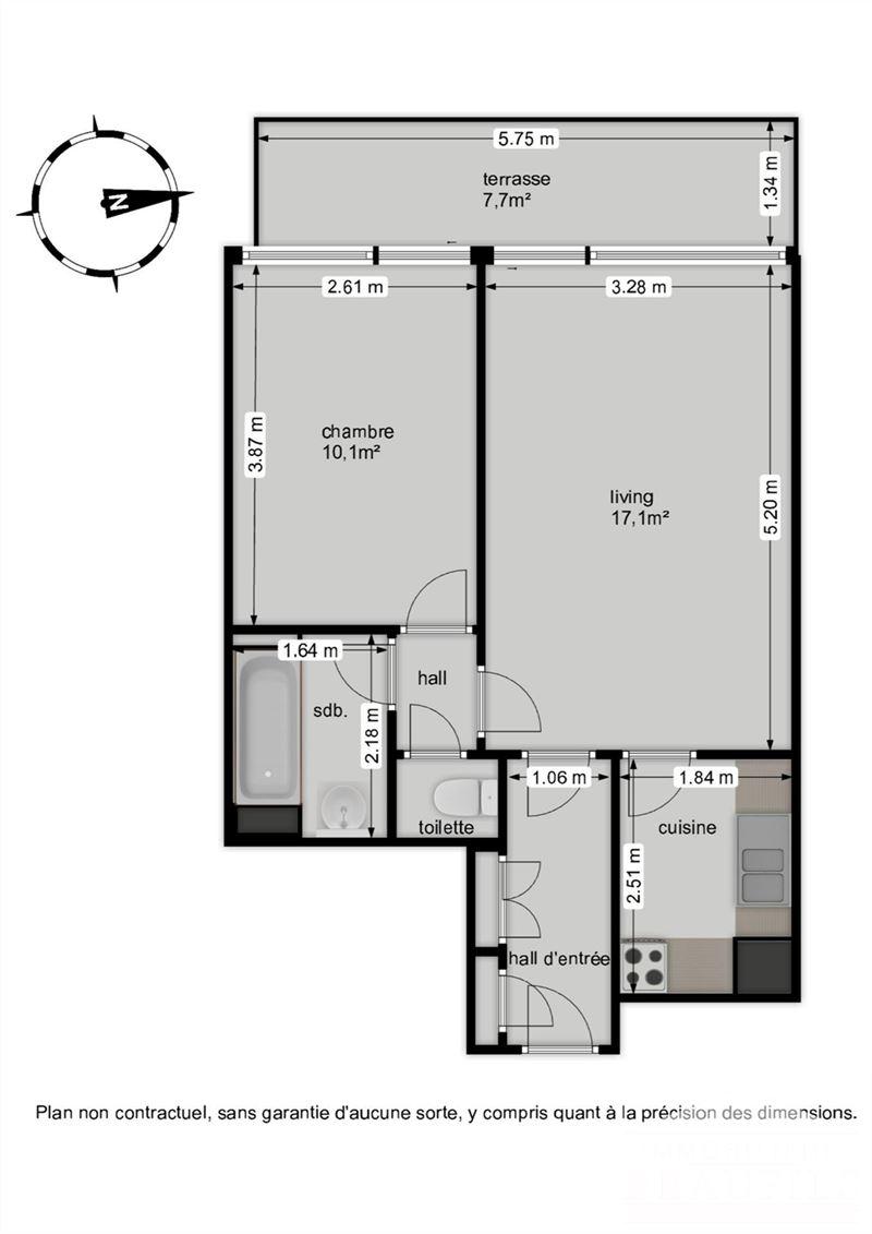 Image 14 : Appartement à 1400 NIVELLES (Belgique) - Prix 150.000 €