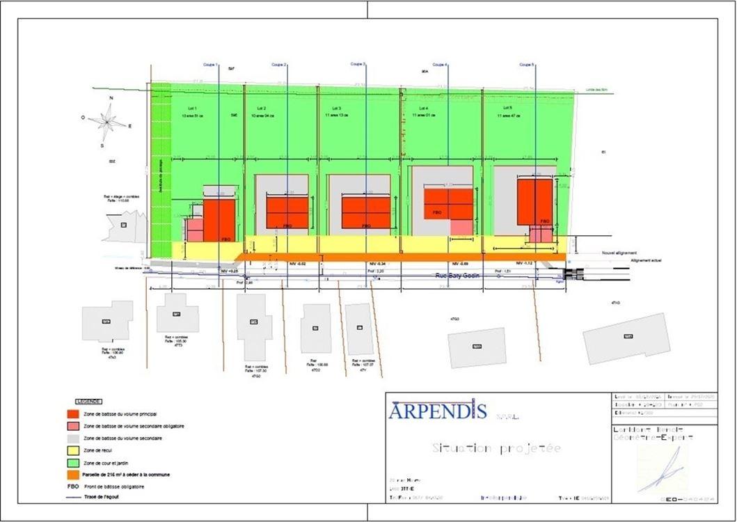 Image 5 : A bâtir - Unifamilial à 1472 GENAPPE (Belgique) - Prix 190.000 €