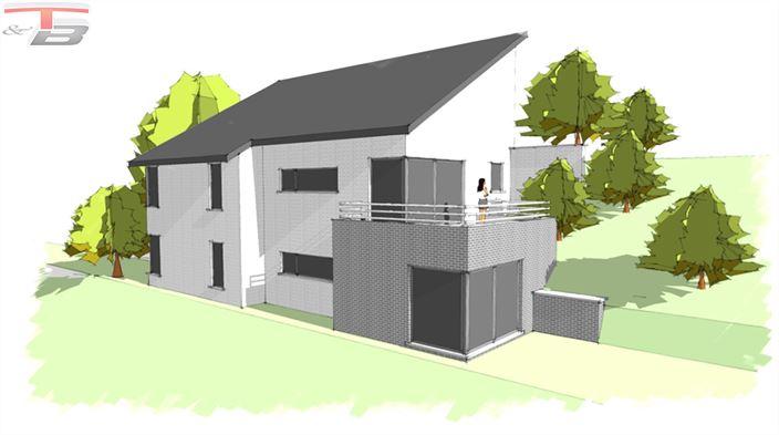 Parcelle libre de constructeur de 1.705m² située dans un cadre verdoyant, à proximité du château de Franchimont