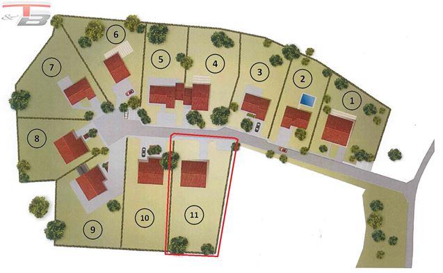 Terrain à bâtir libre de constructeur de 1.289m² situé au calme dans une voie sans issue !