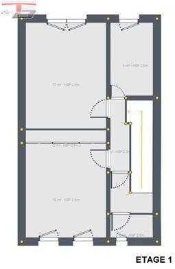 Maison basse énergie neuve 3 chambres de 131m² habitable à proximité immédiate de toutes commodités.