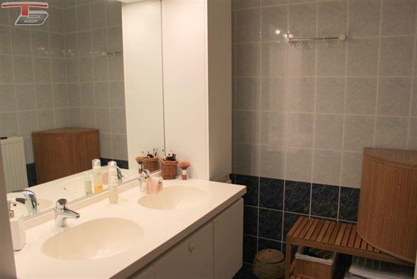 Spacieux appartement 3 chambres avec terrasse et garage idéalement situé dans un cadre verdoyant proche du centre-ville.