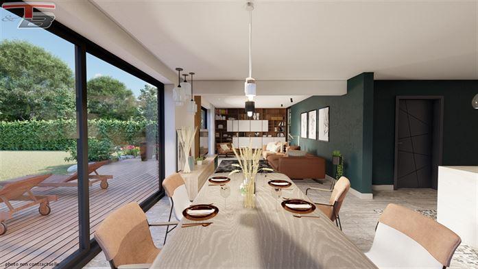 Villa neuve 4 chambres de 203m² habitables entièrement équipée sur terrain de 1.227m² idéalement exposé