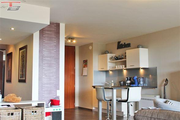 Appartement 2 chambres de 100m² entièrement équipé avec terrasse cave et garage dans un parfait état d