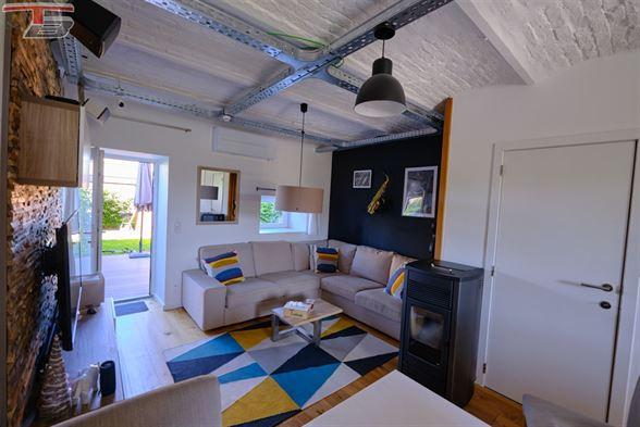 Maison de caractère 2 chambres en parfait état avec terrasse et jardin située sur les hauteurs de Polleur