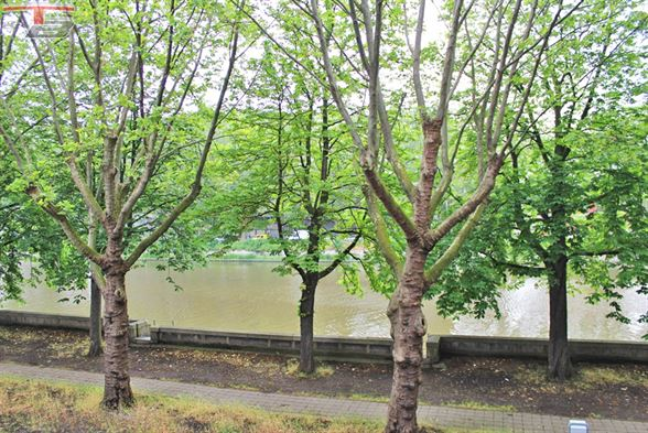 Bel appartement 2 chambres de 75 m² entièrement rénové avec terrasse et vue splendide sur Meuse situé à proximité de toutes commodités (commerces, autoroute,...).